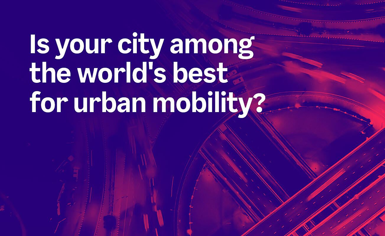 Is your city among the best for urban mobility?