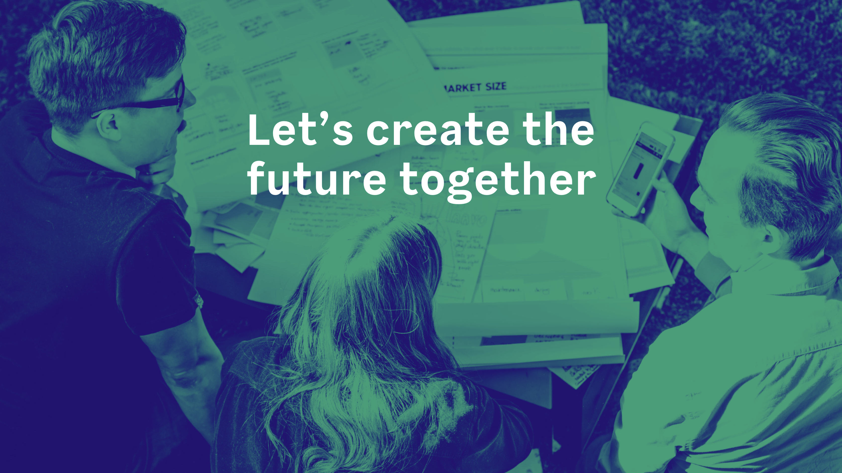 let's create the future together