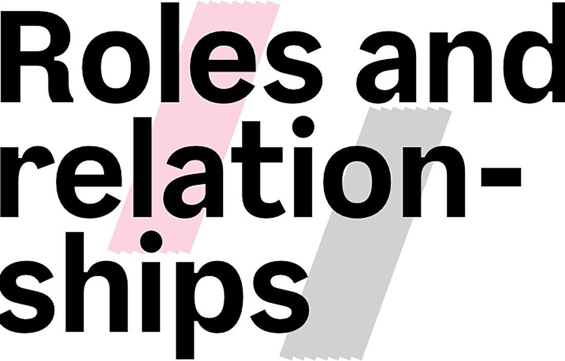 Roles and Relationships by Sarah Higley