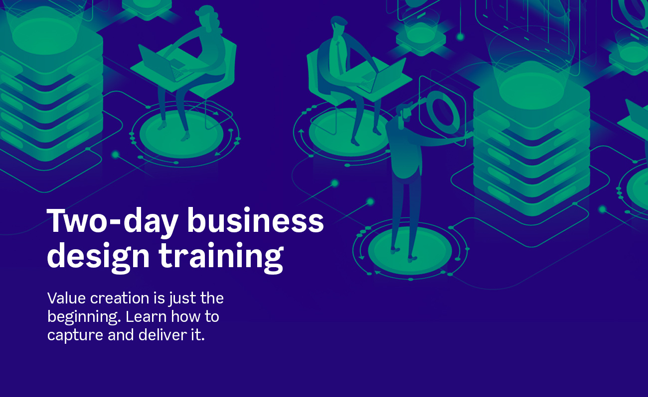 Two-day business design training
